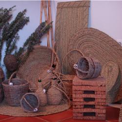Productos de esparto, mimbre y corcho
