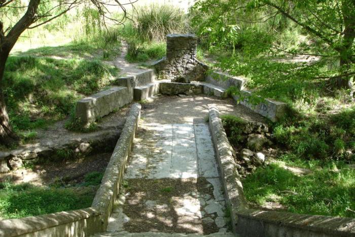 Sendero Descansadero - Llanos del Campo - una de las áreas recreativas más amplias del parque de la Sierra de Grazalema