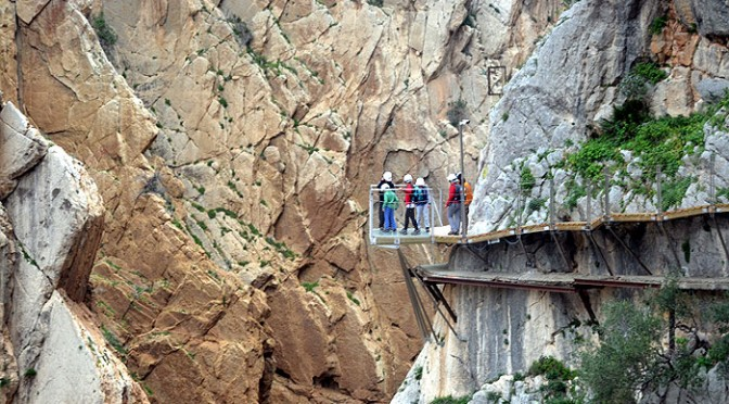 The Caminito del Rey, El Chorro and The Guadalhorce reservoirs