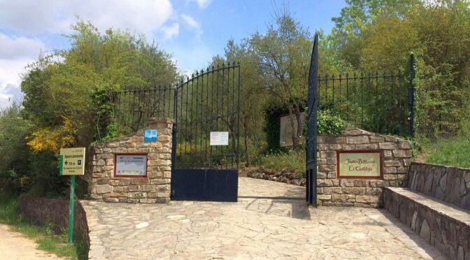 A visit to the botanic garden in the village of El Bosque.