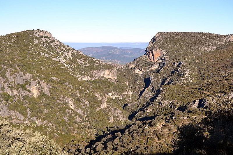 Garganta Verde in the Sierra de Grazalema