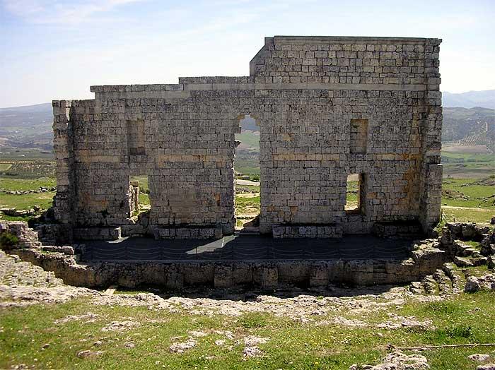 The ruined Roman city of Acinipo
